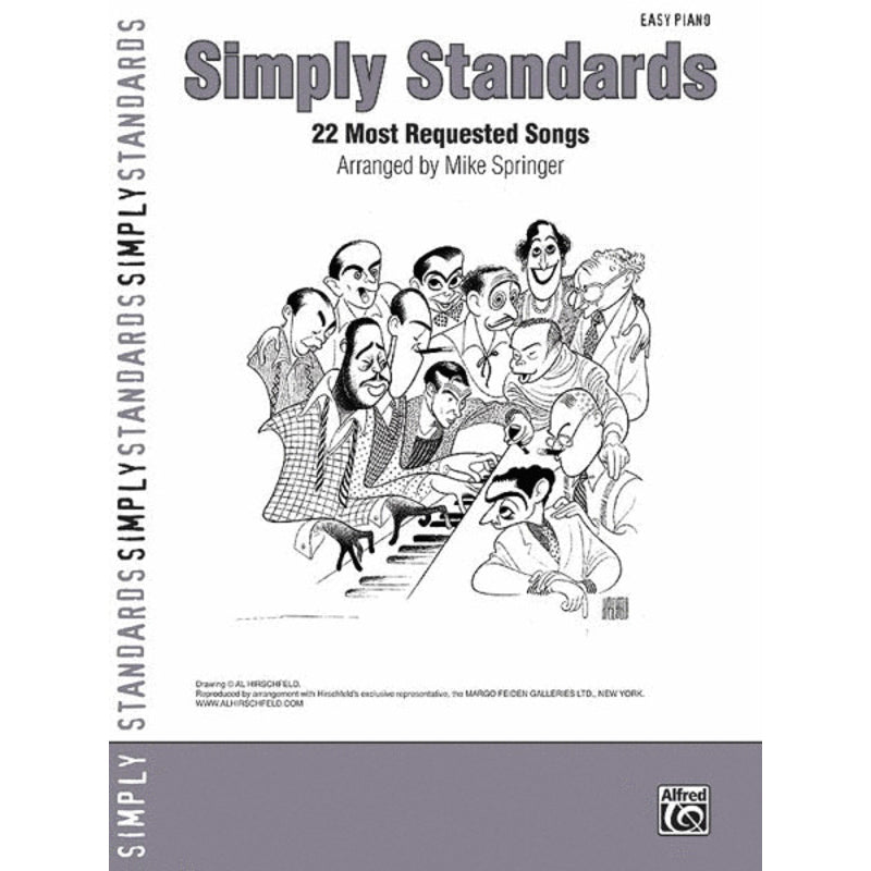 Simply Standards Easy Piano