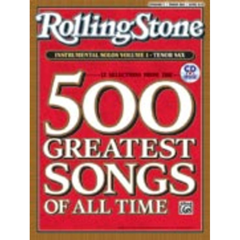 Rolling Stone Selections Bk/Cd Tenor Sax