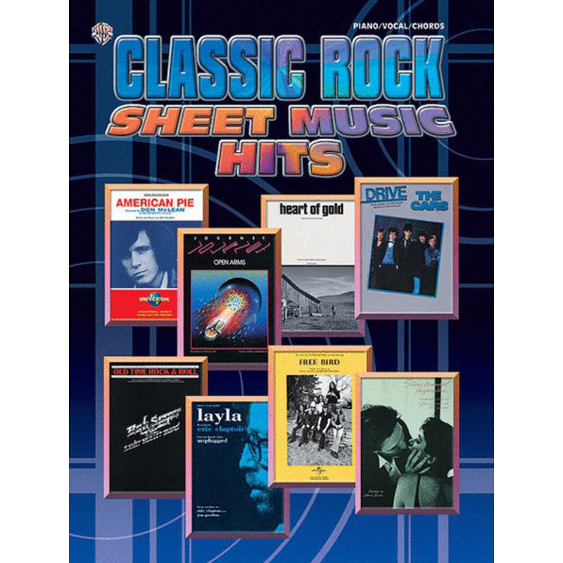 Classic Rock Sheet Music Hits PVG