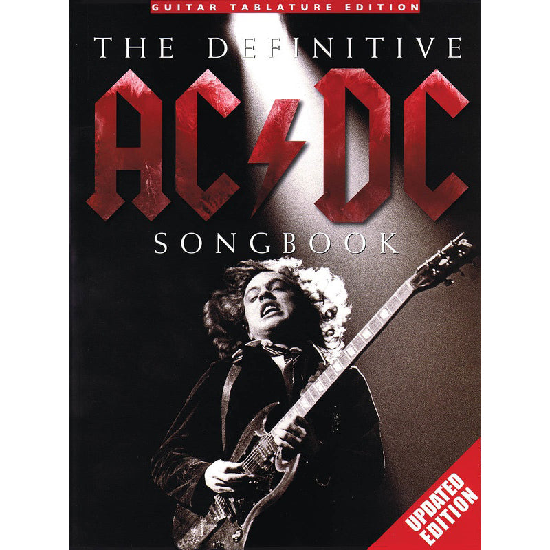 The Definitive AC/DC Songbook - Updated Edition TAB