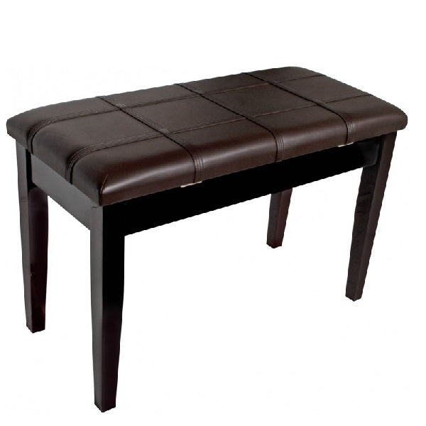 AMS KTW12M Piano Bench Polished Mahogany