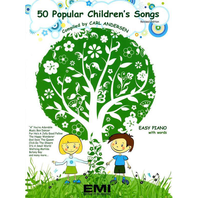 50 Popular Children's Songs