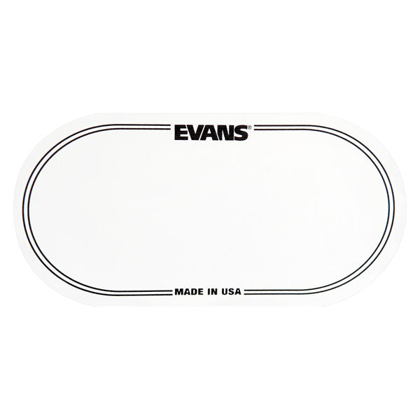 Evans EQ Clear Plastic Double Patch
