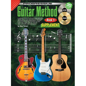 Progressive Guitar Method Book 1: Supplement