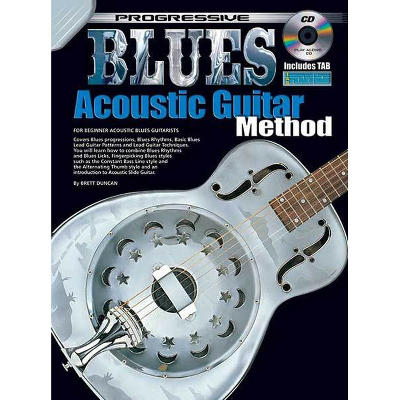 Progressive Blues Acoustic Guitar