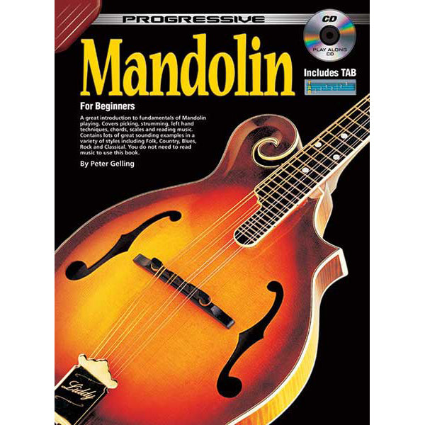 Progressive Mandolin for Beginners Book/CD