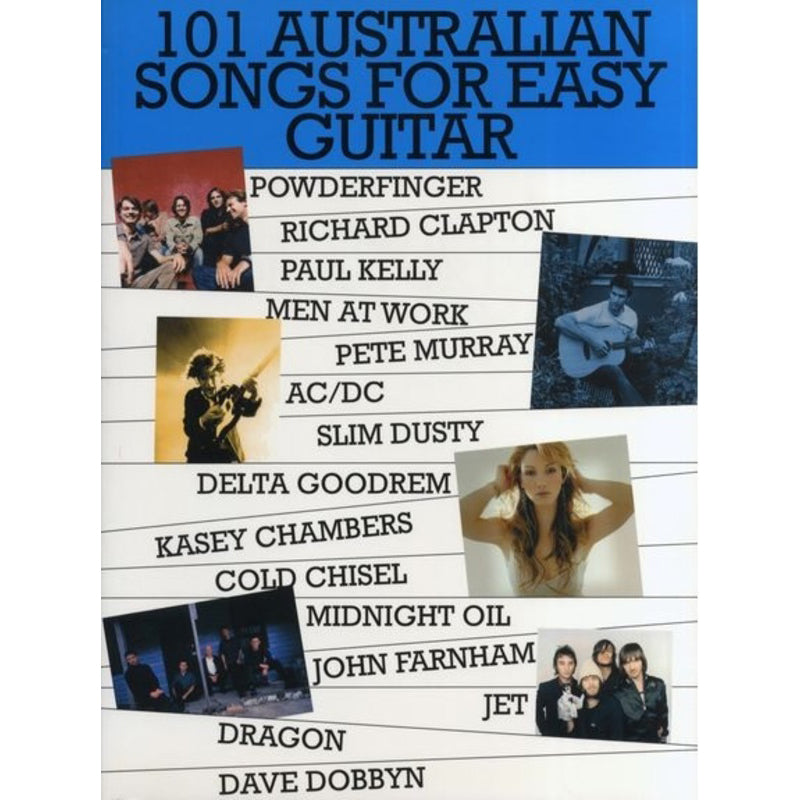 101 Australian Songs for Easy Guitar Vol. 1