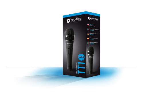 PRODIPE TT1 Lanen Vocal Mic with Clip and Bag