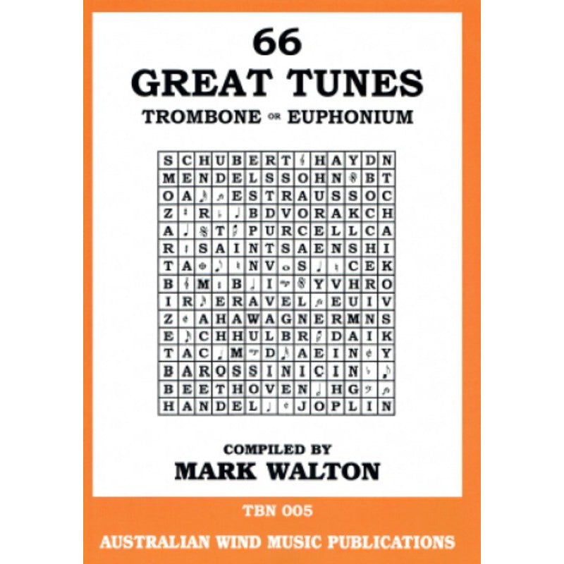 66 Great Tunes for Trombone & Euphonium