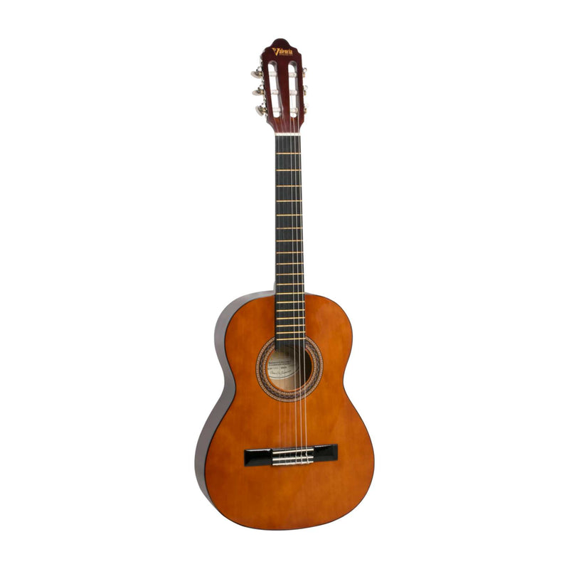 Valencia VC103 Left Handed 3/4 Size Classical Guitar - Natural