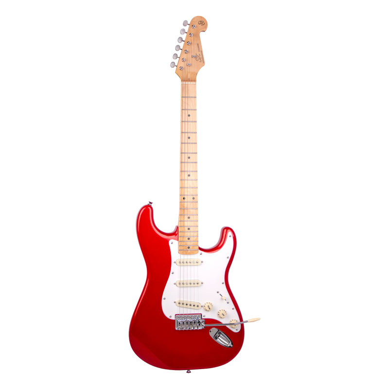 SX VES57 Electric Guitar - Candy Apple Red