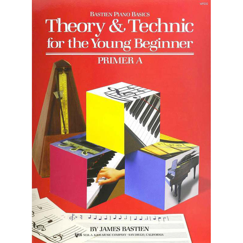 Bastien Theory & Technic for the Young Beginner, Primer A
