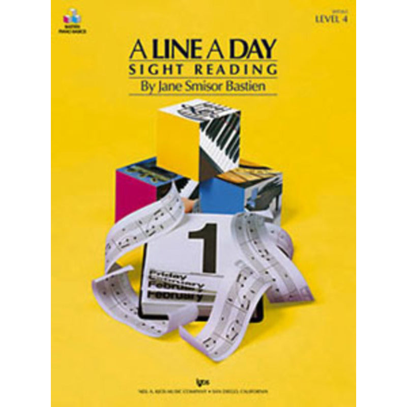 A Line A Day Sight Reading, Level 4
