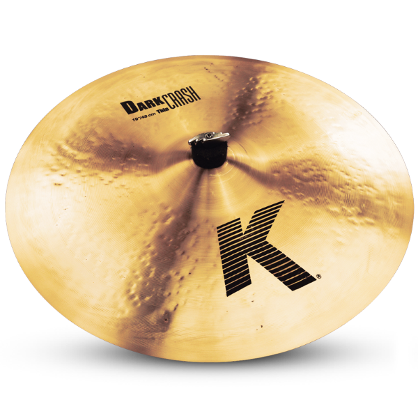"Zildjian K 19"" Dark Thin Crash"