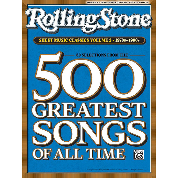Rolling Stone Sheet Music Classics Vol. 2 1970s - 1990s