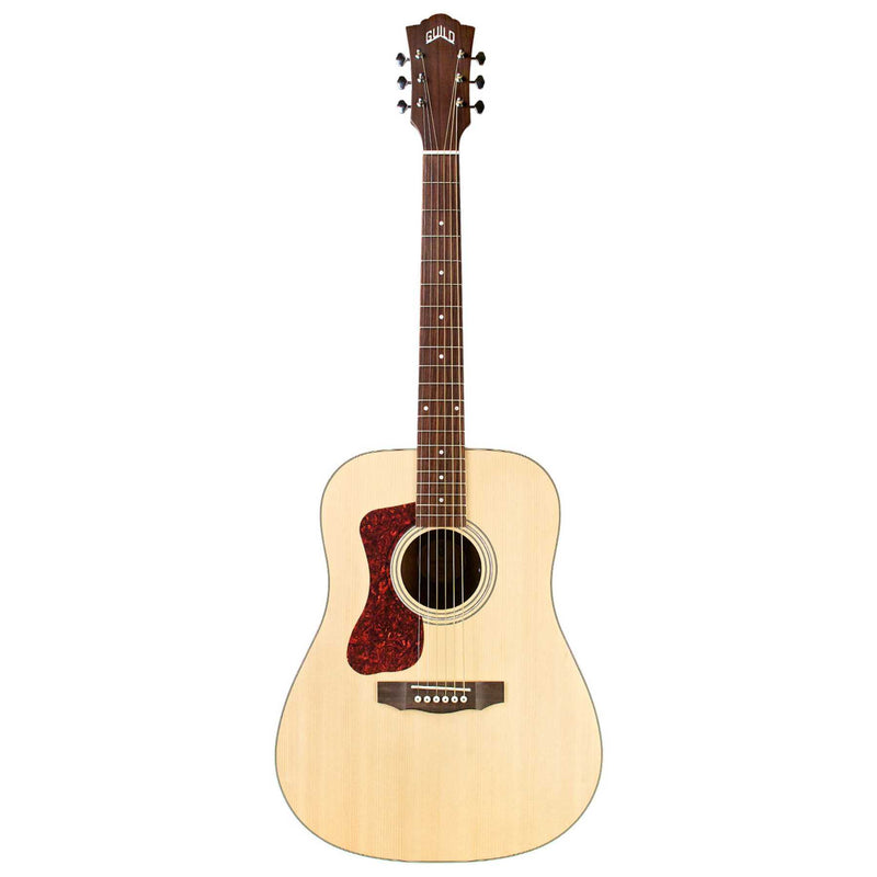 Guild D-240EL Left Handed Acoustic Electric Guitar - Natural