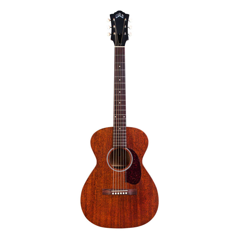 Guild M-20E Acoustic Electric Guitar - Natural