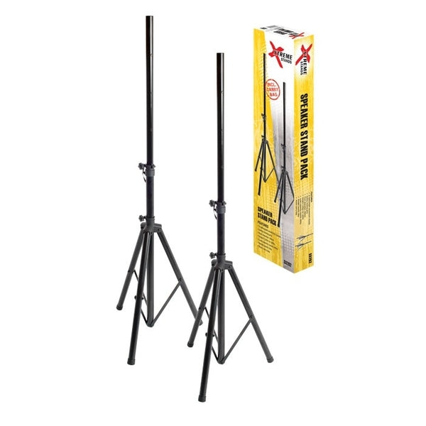 Xtreme Lightweight pair Speaker Stands in carry bag
