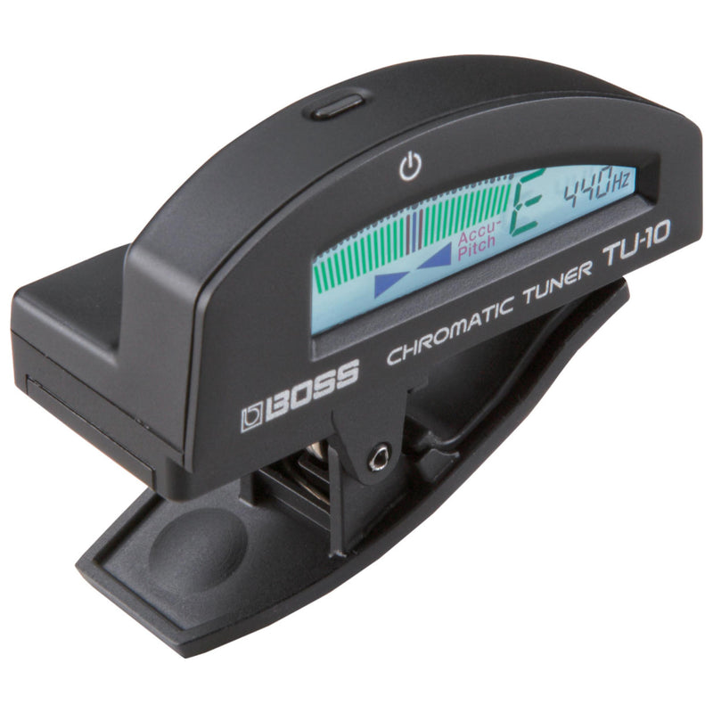 BOSS TU-10 Clip on Chromatic Tuner - Black