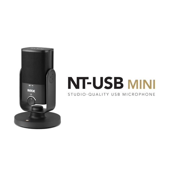 RODE NT-USB Mini – Our New Compact, Studio-Quality USB Microphone