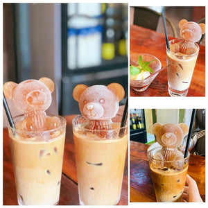 [BUY 1 GET 1 FREE] Ice Bear Coffee Silicone Mold