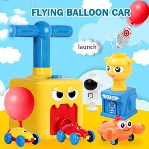 2020 Educational Toy Balloon Powered Car Balloon Launcher