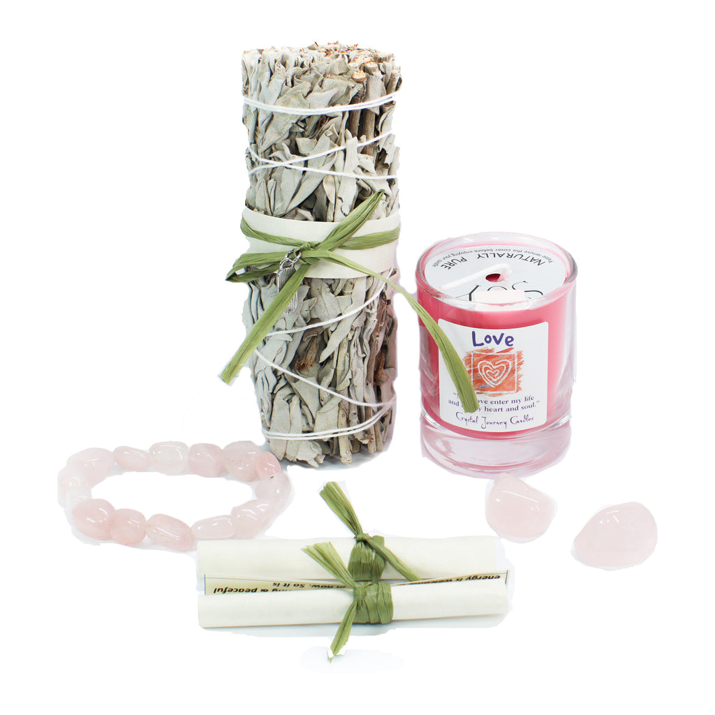 Manifest Love Smudge Kit