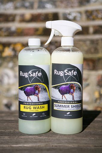 Rug Safe - Pro Summer Shield, horse rug fly spray- 1L