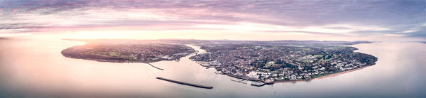 "Covid 19 and a beautiful ""Sunrise Over Cowes"""