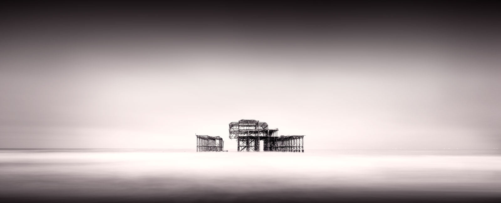 Gallery Closing for a month and The West Pier, Brighton