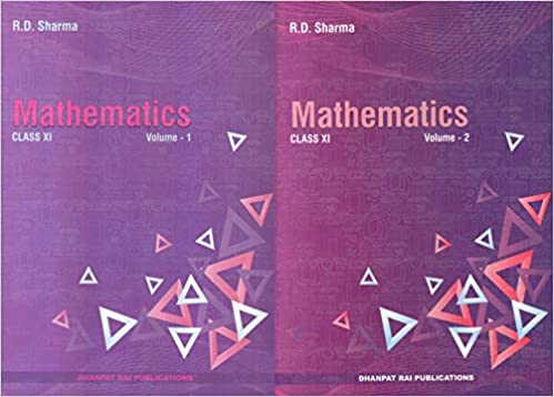 Mathematics for Class 11 by RD Sharma (set of 2 volumes) Examination 2020-2021
