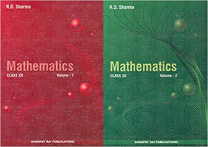 Mathematics for Class 12 by RD Sharma (Set of 2 Vol.) Examination 2020-2021