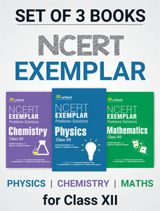 Arihant's NCERT Exemplar for Class 12 (Set of 3) PCM
