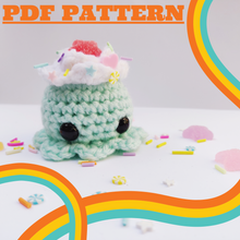 Load image into Gallery viewer, PDF PATTERN: The Ice Cream Octoscoop