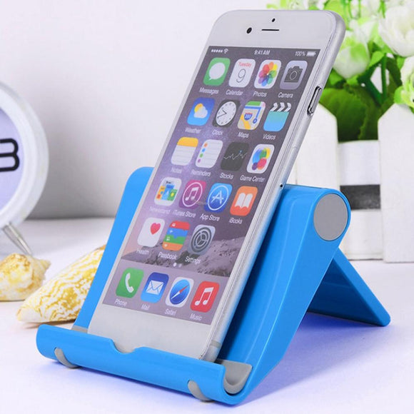 Universal Colorful Multi-functional phone and tablet adjustable stand holder just in time for home schooling or continued working from home