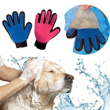 Animal Pet Grooming and Deshedding Glove Brush Perfect for Cats & Dogs