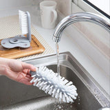 Multi-use 2 in 1 Sink Brush Scrubber Cleaner for Glasses, Cups and Bottles