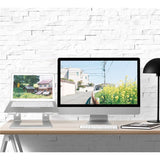 Smarter way to work with this ergonomically correct Portable and Durable Laptop Stand for your Home Office or while Traveling
