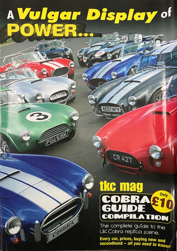 COBRA REPLICA GUIDE