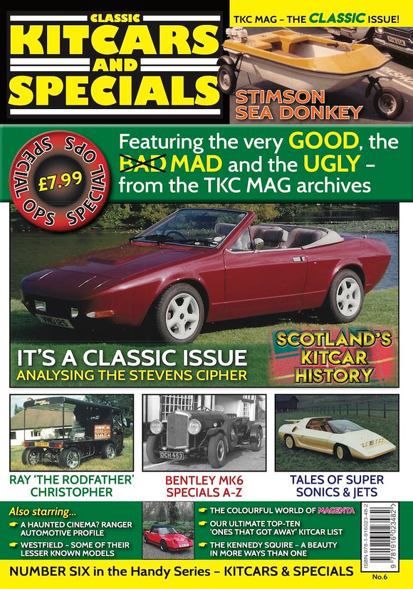 CLASSIC KITCARS & SPECIALS - ISSUE ONE - AUGUST 2020