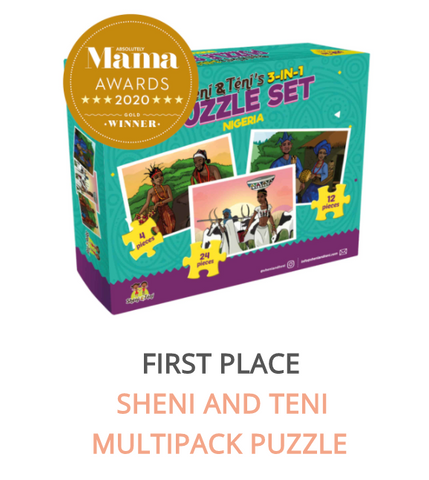 African Culture Puzzle Set for Kids