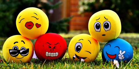 Emoticon cushions