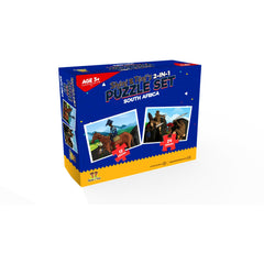 Sheni and Teni's 2-in-1 Puzzle Set - South Africa