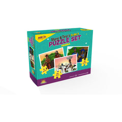 Sheni and Teni's  3-in-1 Puzzle Set - Nigeria