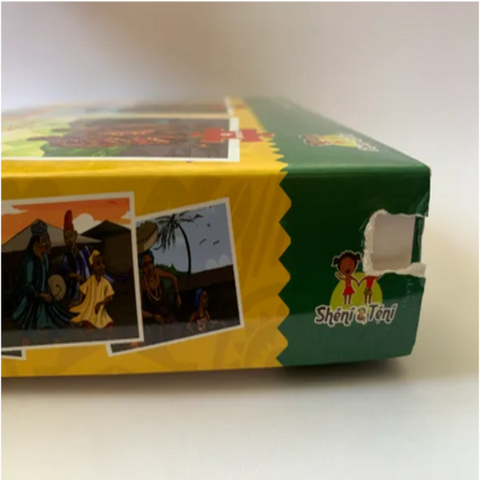 Sheni and Teni's 3-in-1 Puzzle Set - Ghana - Damaged