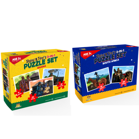 Sheni and Teni's Puzzle Bundle - Ghana & South Africa