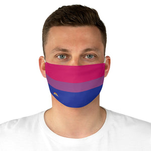 Bisexual Flag Fabric Face Mask