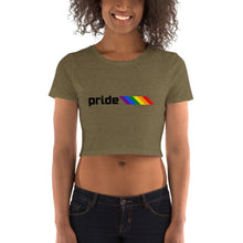 Load image into Gallery viewer, Pride Bars Crop Top-Shirts-ATLPride.com