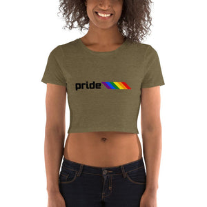 Pride Bars Crop Top-Shirts-ATLPride.com