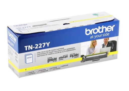 BROTHER ORIGINAL MOD. TN227 YELLOW